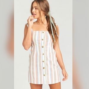 NWT | Show Me Your Mumu | Cora Stripe Dress